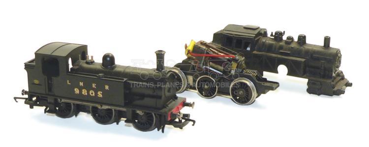 Hornby OO-gauge LNER 0-6-0 Tank Locomotive