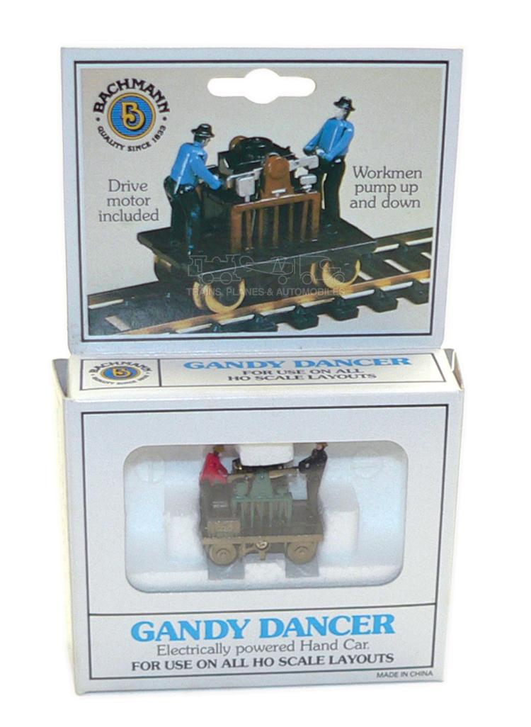 Bachmann 46202 HO-scale Gandy Dancer Powered Hand Car