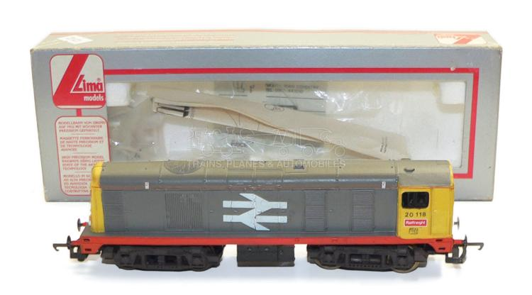 Lima HO-Gauge BR Bo-Bo Diesel Locomotive