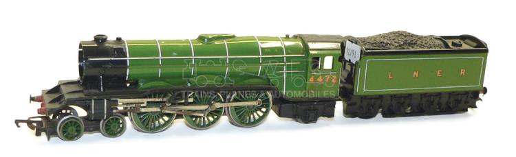 Hornby OO-gauge LNER 4-6-2 Locomotive