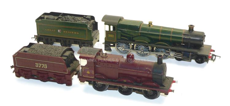 Two Tri-ang OO-gauge Locomotives