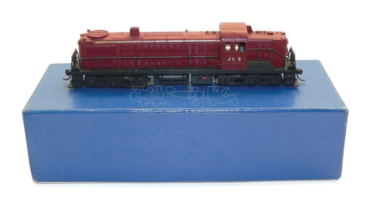 Hobbytown HO-gauge brass ALCO RS-3 Diesel Locomotive