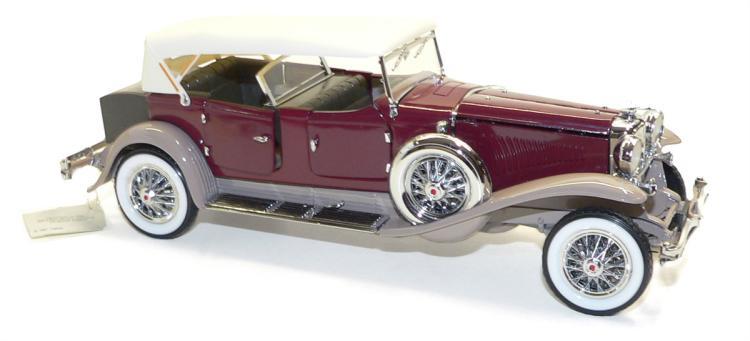 Franklin Mint B11KF07 1:24 scale 1930 Duesenberg J Derham Tourster