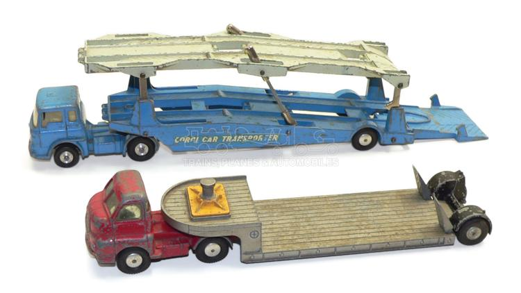 Two Corgi Major Vehicles
