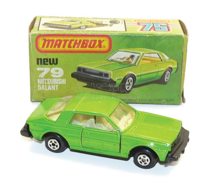 Matchbox late issue No. 79 Mitsubishi Galant