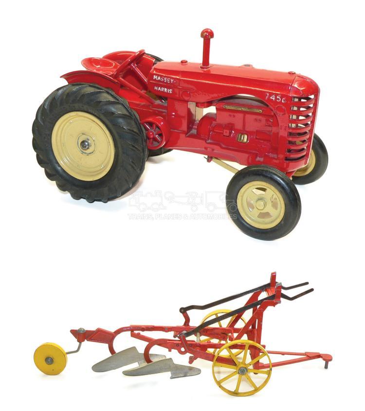 Lesney Massey-Harris Tractor 745D