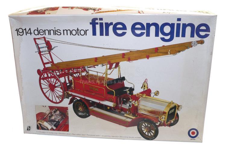 Entex 8473 1:16 scale 1914 Dennis Fire Engine Kit