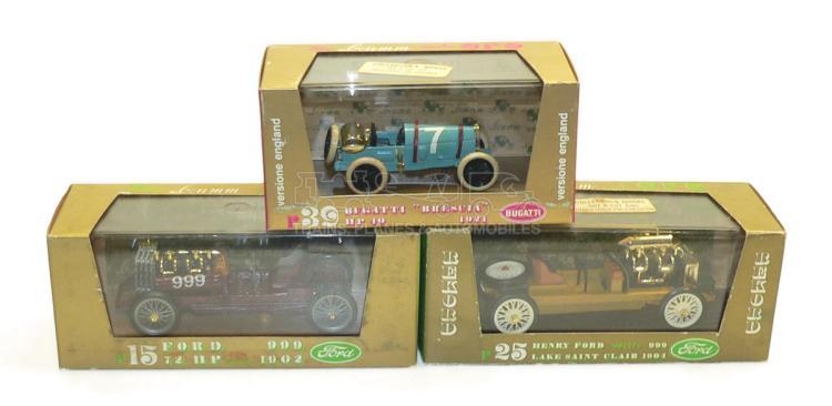 Three Brumm 1:43 scale Cars