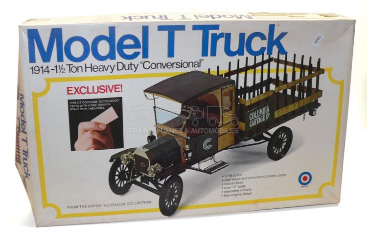 Entex 8498 1:16 scale 1914 Ford Model T Truck Kit