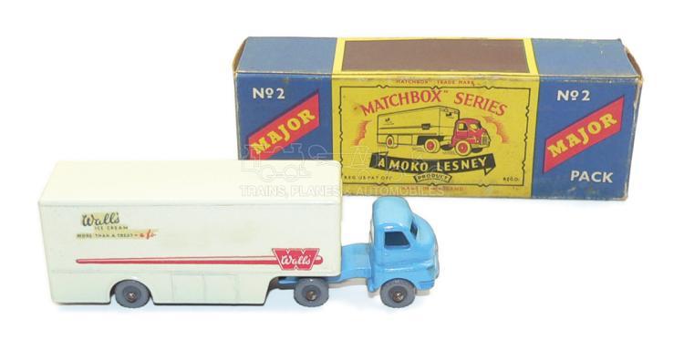 Matchbox Major Pack No. 2 Bedford Articulated Truck
