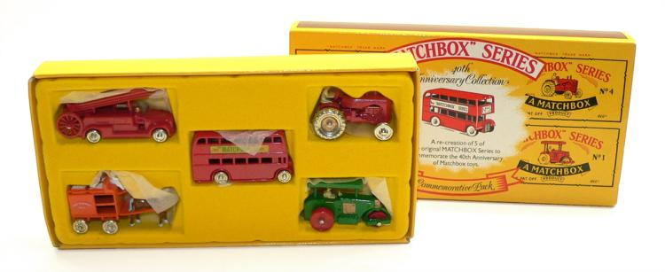 Matchbox 40th Anniversary Commemorative Pack