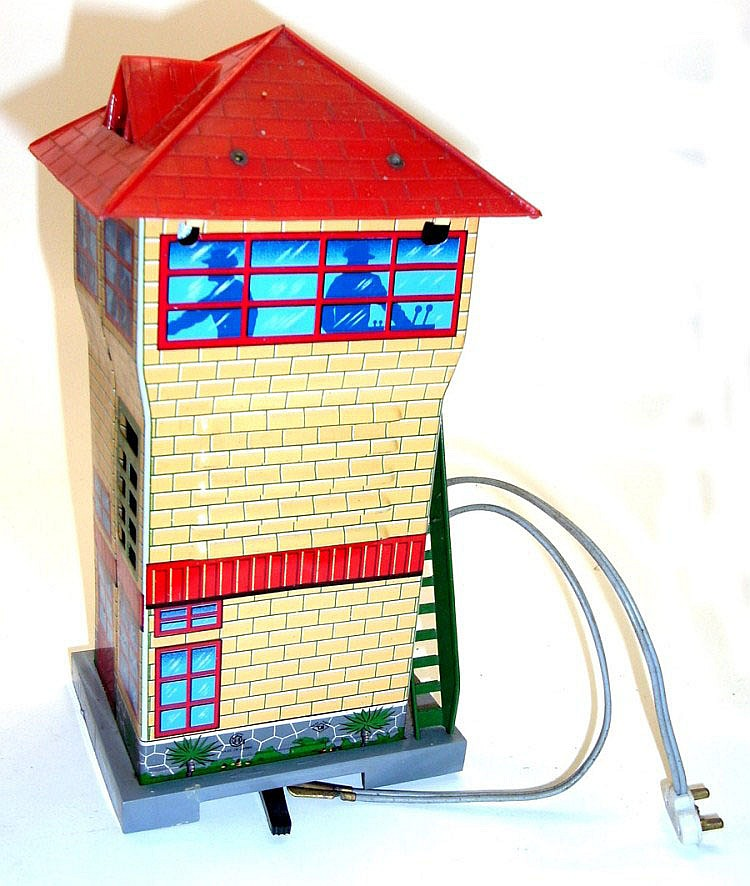 Modern Toys O-gauge Tinplate Signal Box