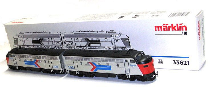 Marklin HO 3-rail No. 33621 EMD F-7 Diesel Locomotive