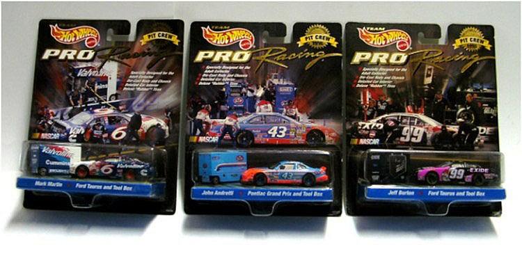 Three Mattel 'Team Hot Wheels' Pro Racing Cars
