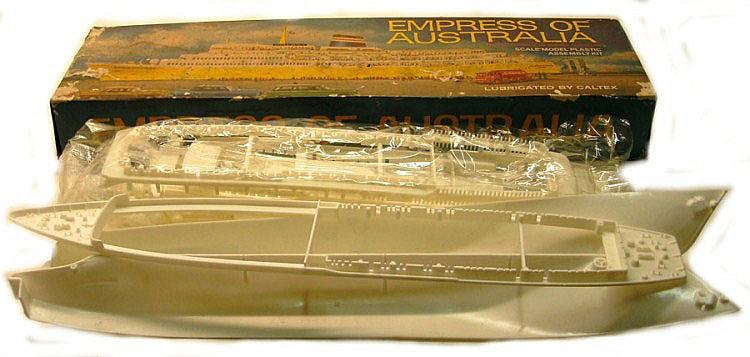 Caltex/Australian National Lines Plastic Ship Kit 'Empress of Australia'