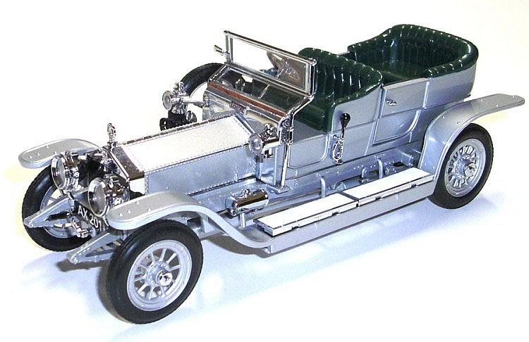 Franklin Mint 1:24 scale Rolls Royce Silver Ghost