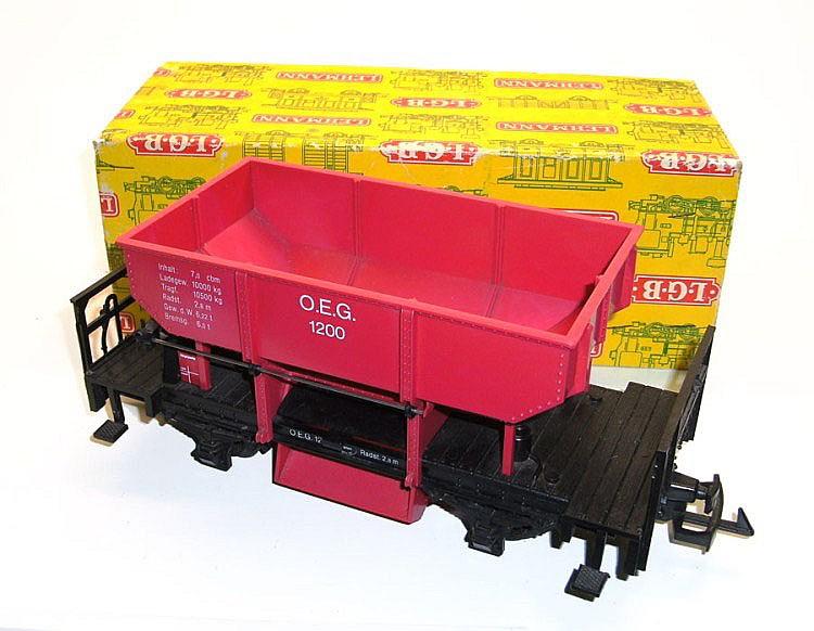 LGB 1-gauge 4041 Ballast Hopper