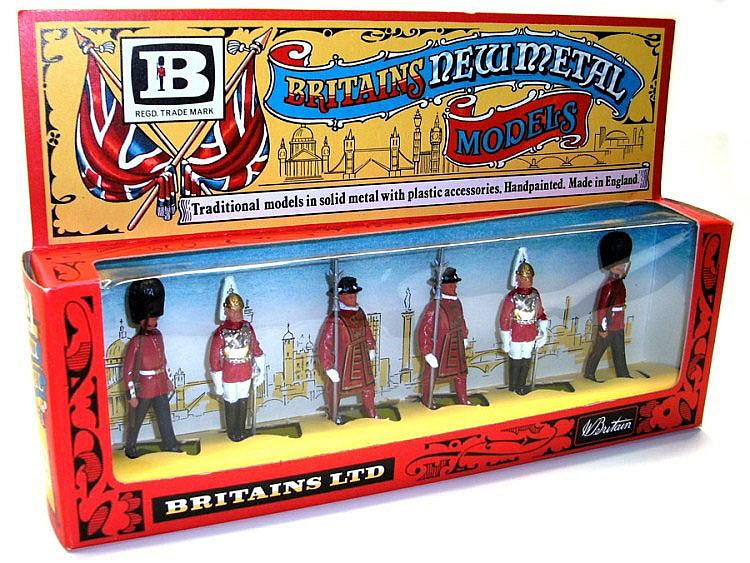Britains 7225 1-gauge Set of six hand-painted metal Figures