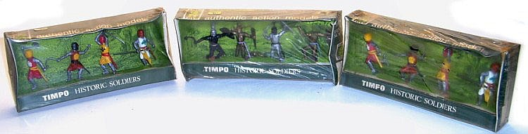 Three Timpo Historic Figures Boxed Sets
