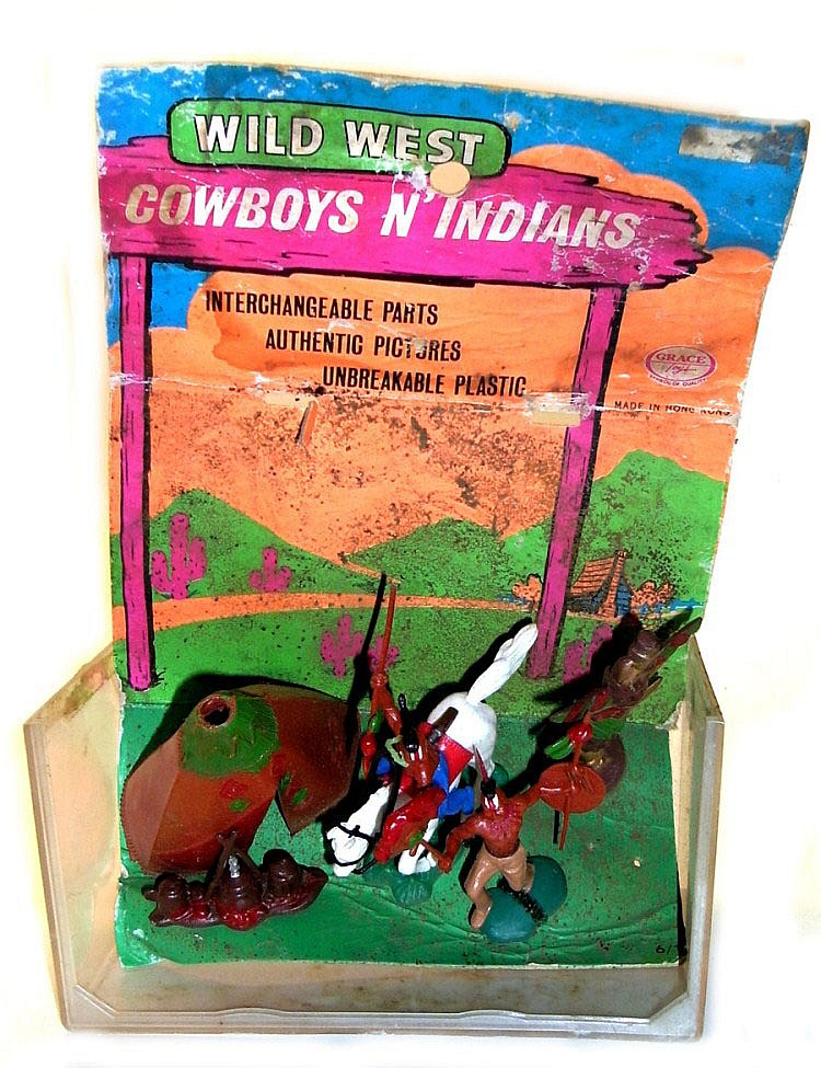 Two Wild West Figure Sets