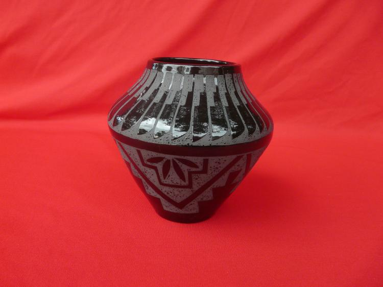 Hand Made Pot Free Hand Design