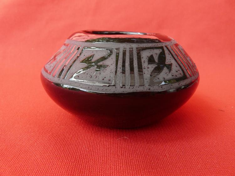 Ceramic Bowl With Design Inside