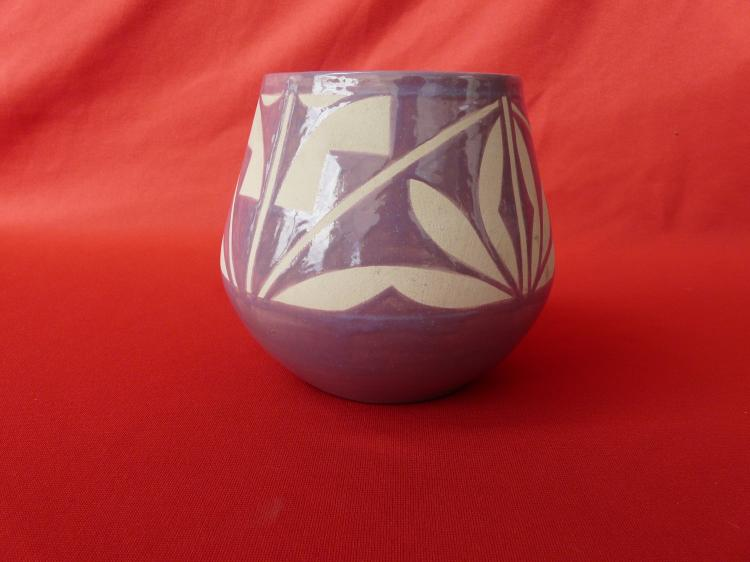 Porcelain 1987 Hand Made Jar