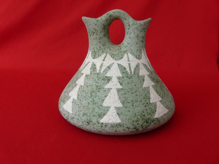 Handmade Clay Wedding Vase
