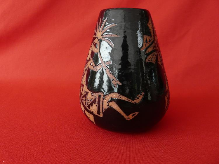 Hand Built Micaceous Clay Vase