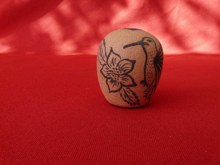 Handmade Micaceous Seed Pot