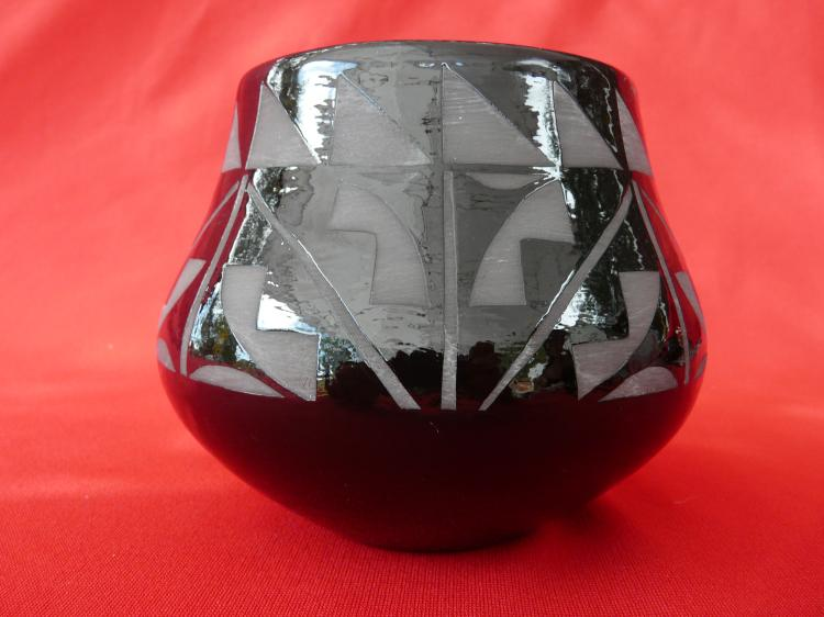 Black Hand Designed Bowl