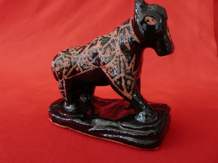 Handmade Micaceous Clay Horse
