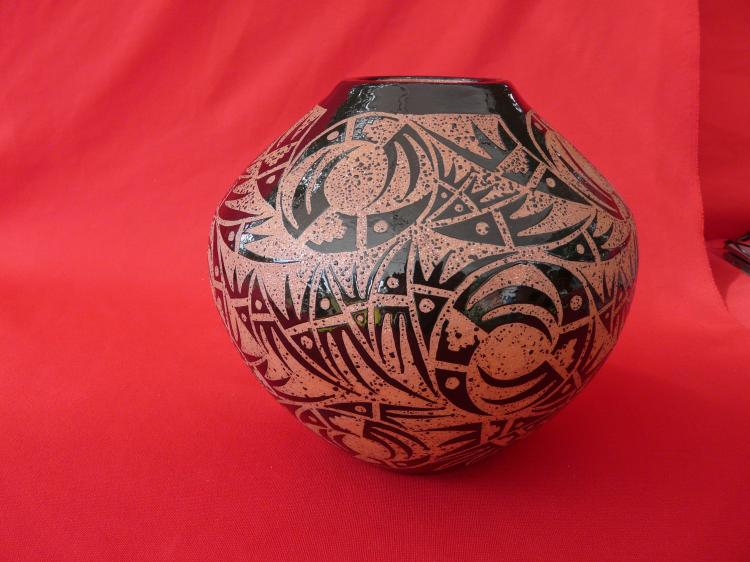 Handmade Micaceous Clay Vessel
