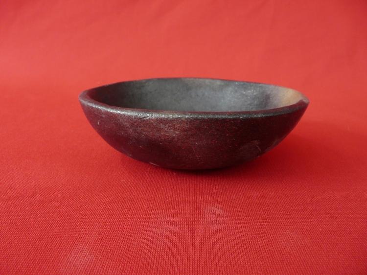 Hand Dug Micaceous Clay Traditional Pit Fired Chipped From Firing