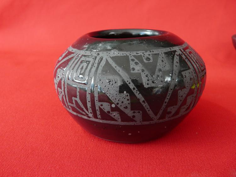 Hand Made Bowl With Design On The Inside