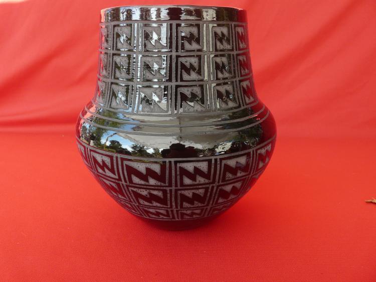 Ceramic Hand Made Jar