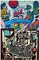 Erró (né en 1932) Sans titre, 1985 Acrylique sur toile Signée et datée au dos Acrylic on canvas Signed and dated on the reverse 100 ...