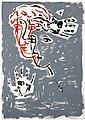 Sandro Chia (né en 1946) Sans titre, 2003 Huile sur toile Signée au centre Dédicacée au dos Oil on canvas Signed in the middle Dedic...