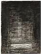 Josef Sima (1891-1971) Orphée, 1960 Lavis d'encre et fusain sur papier Signé et daté 60 en bas au milieu Ink wash and charcoal on pa...