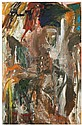 Per Kirkeby (Né en 1938) Sans titre, 1981-1982 Huile sur toile Signée et datée au dos Oil on canvas Signed and dated on the reverse ...