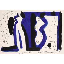 Aki Kuroda (né en 1944) Sans titre, 1988