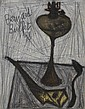 Bernard Buffet (1928-1999) Nature morte à la lampe à pétrole