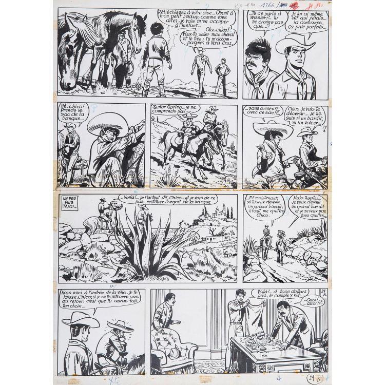 Jijé (Joseph Gillain dit) (1914-1980) Jerry Spring, El Zopilote - Tome 12