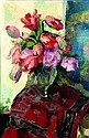 CHARLES KVAPIL (1884-1957) LE BOUQUET DE TULIPES, Charles Kvapil, Click for value