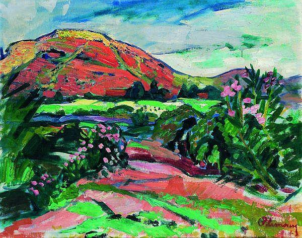 ROGER LIMOUSE (1894-1990) PAYSAGE DE PROVENCE