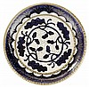ANDRÉ Méthey (1871-1921) A decorative enamelled earthenware plate, Asnières, 1909. Carved signature. Diam. 8 3/4 in., Andre Methey, Click for value