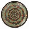 RAOUL LACHENAL (1885-1956) A large circular stoneware bowl, Boulogne-sur-Seine, circa 1920. Enamelled signature