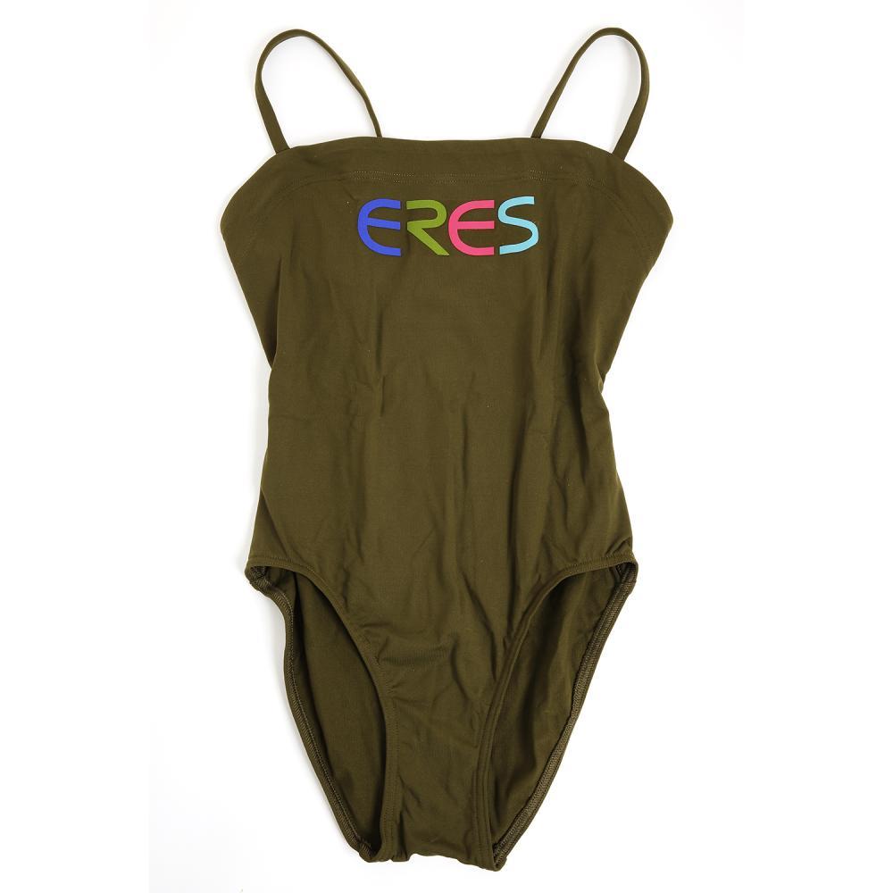 Erès Un maillot de bain, au logo Eres rebrodé, pièce unique issue de la collection capsule Chanel Métiers d'Art 2020, proposé ave...