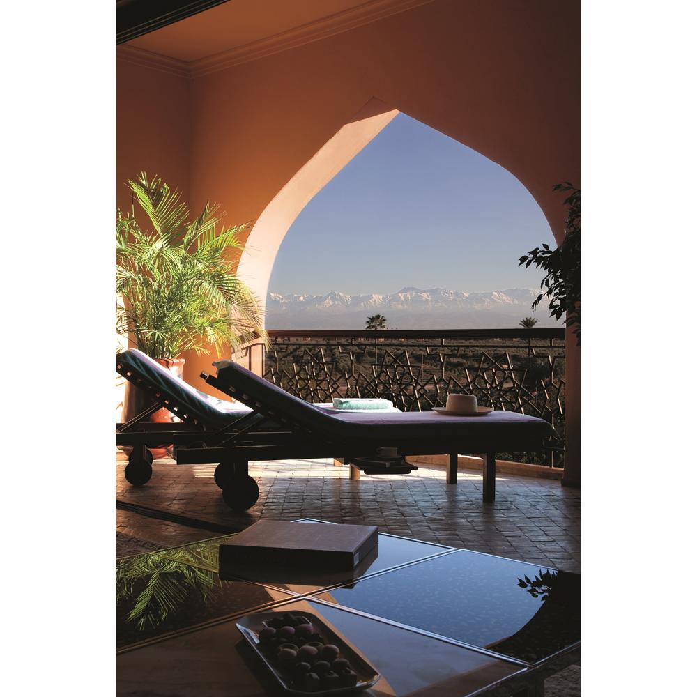 ES SAADI MARRAKECH Un week-end en villa privative au Es Saadi Marrakech Resort pour deux personnes ; Un diner à La Cour des Lions...