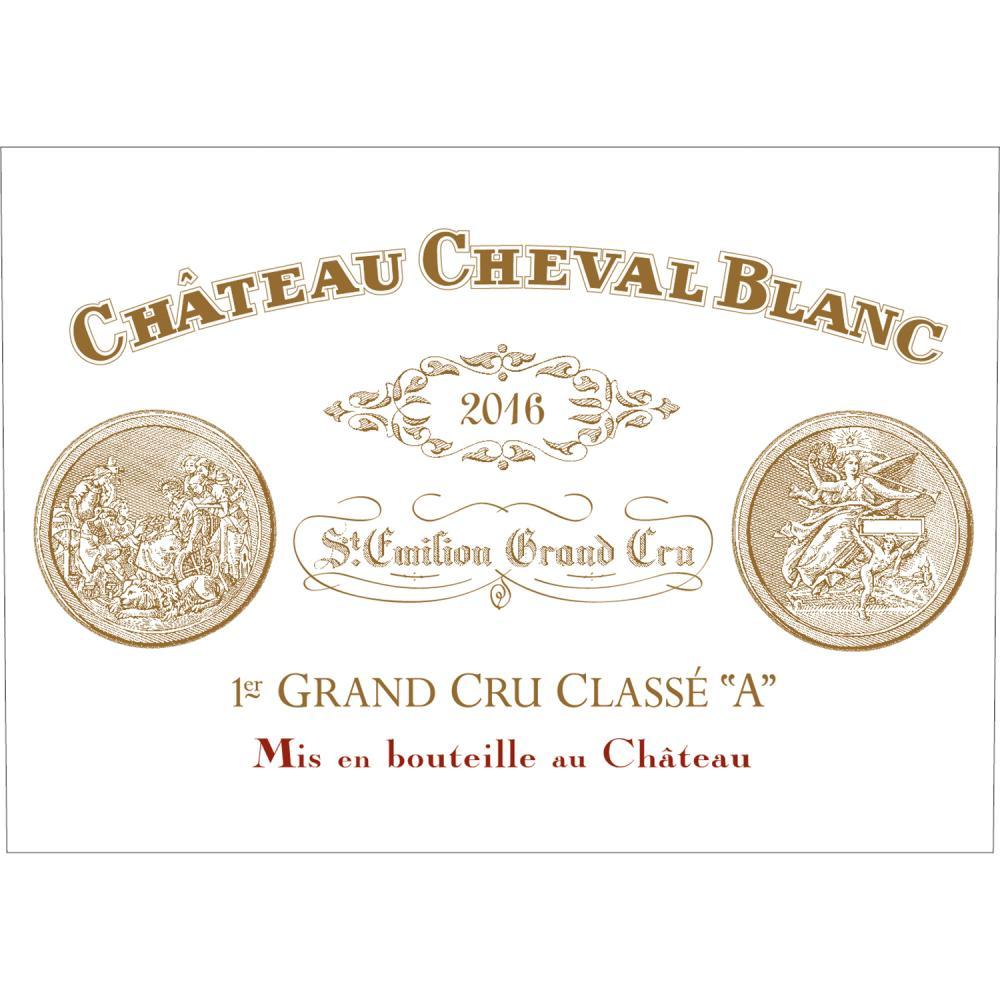 Château Cheval Blanc Un magnum de Château Cheval Blanc 2016, accompagné d'un mot signé par Pierre Lurton, gérant du domaine.